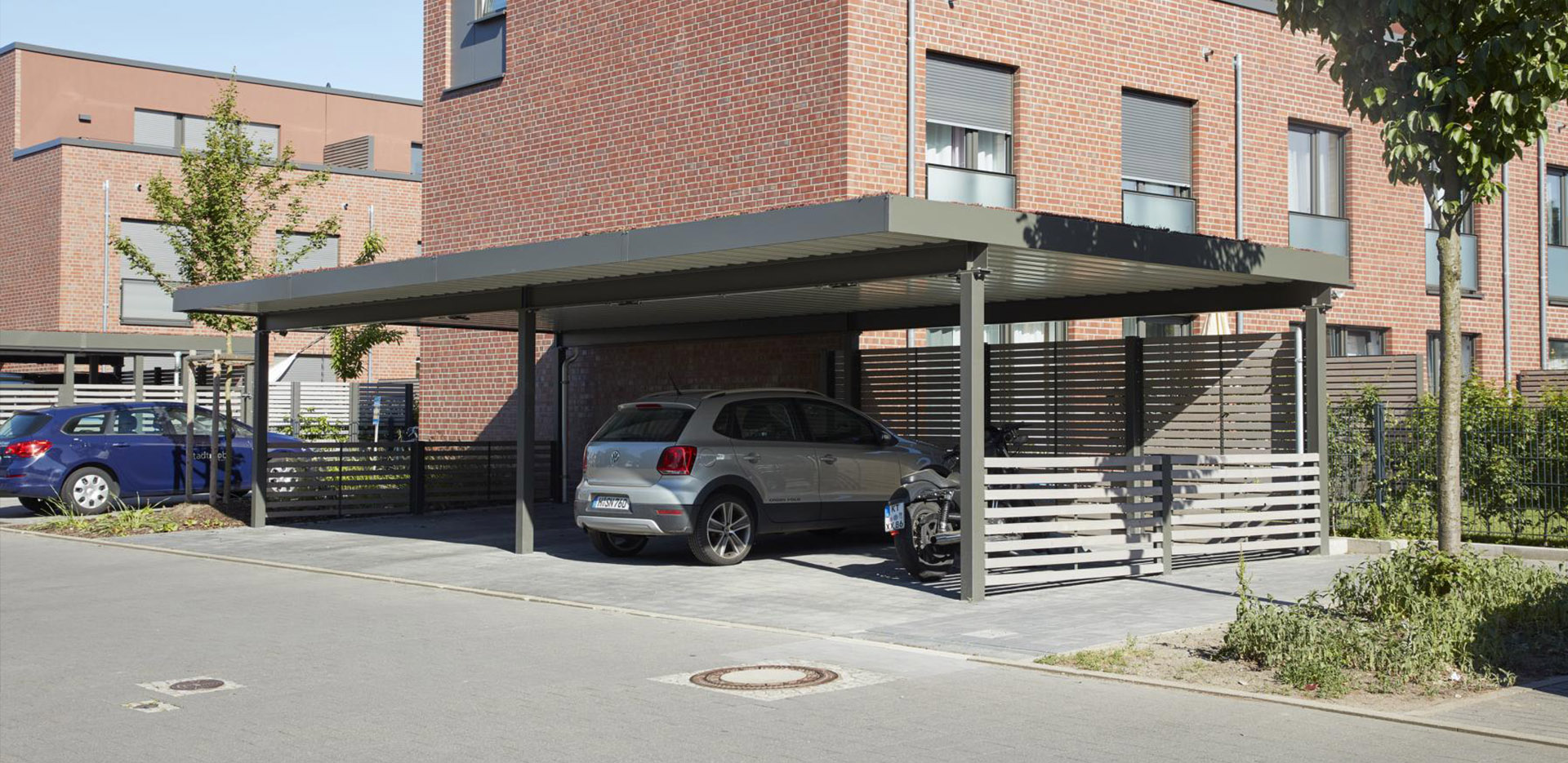 Einhausung-Carport-Metall-Hannover References
